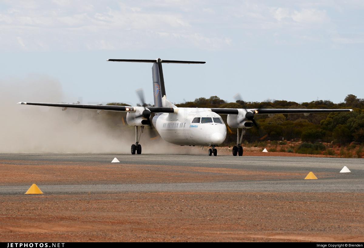 VH-JSJ - Bombardier Dash 8-103 - Cobham Aviation Services Australia