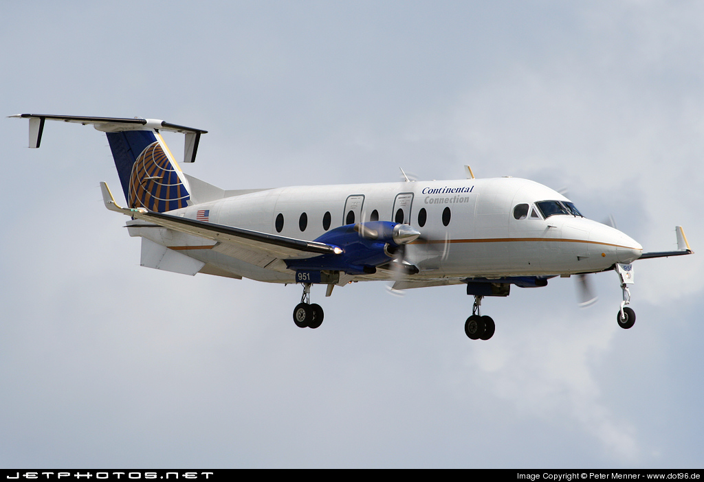 N87551 - Beech 1900D - Continental Connection (Gulfstream International Airlines)