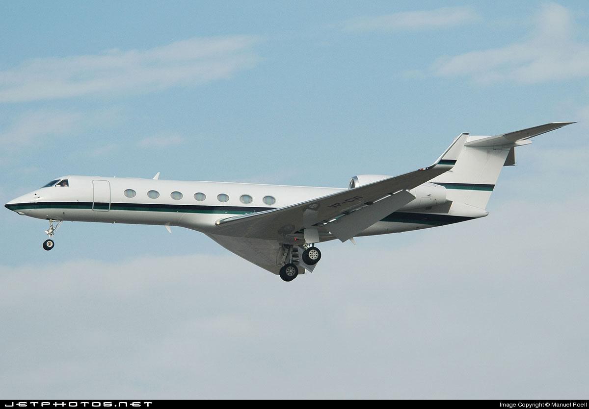 VP-CVI - Gulfstream G550 - Private