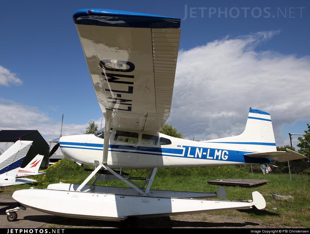 LN-LMG - Cessna A185F Skywagon - Private