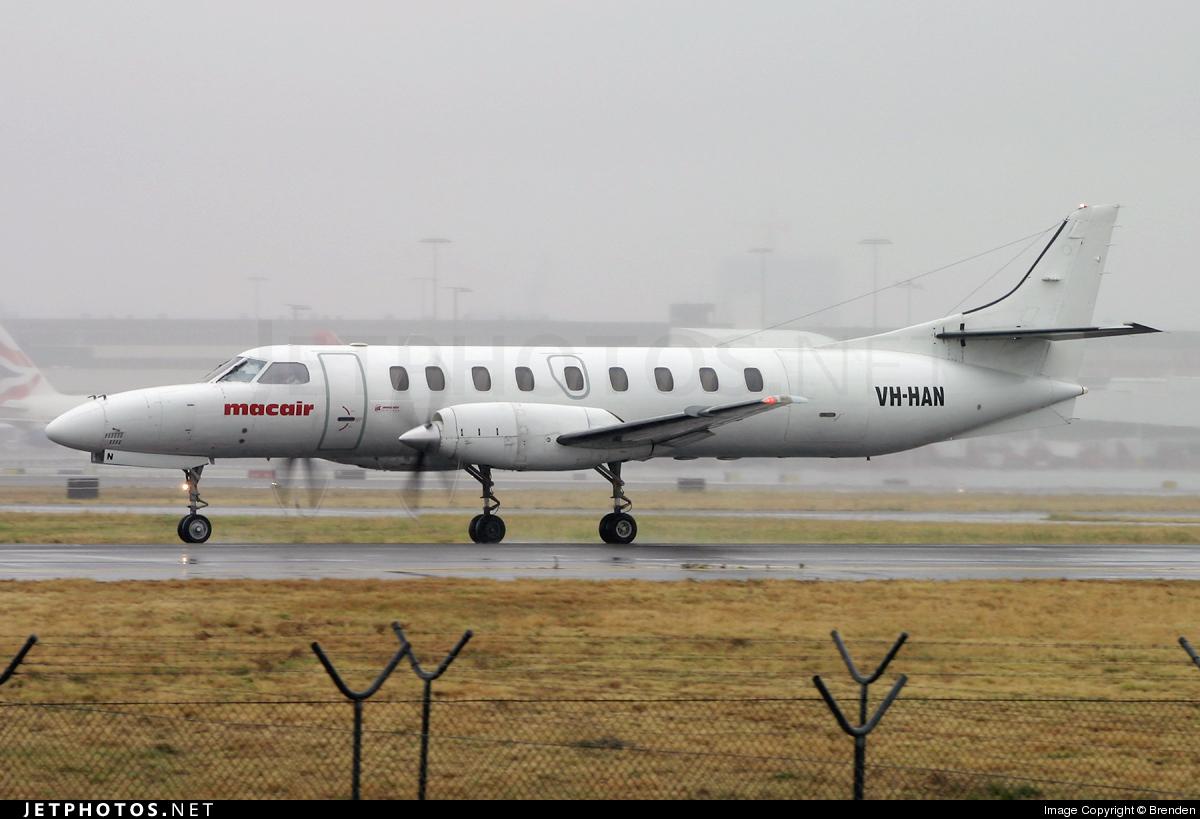 VH-HAN - Fairchild SA227-DC Metro 23 - Macair Airlines