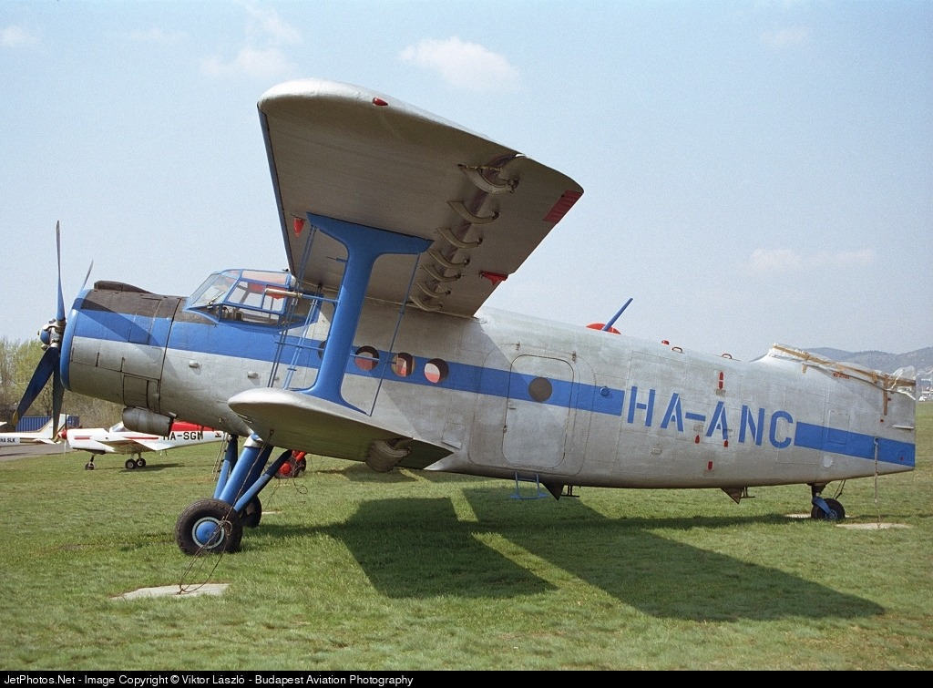 HA-ANC - Antonov AN-2 - Aero Club - Bács-Kiskun