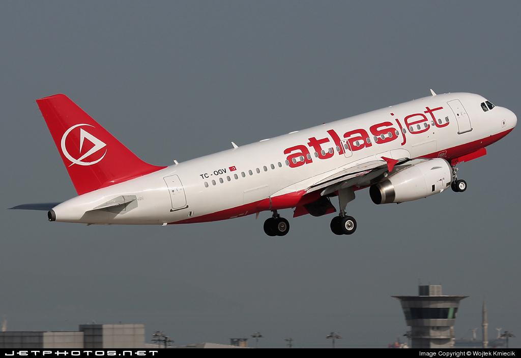 TC-OGV - Airbus A319-132 - AtlasJet