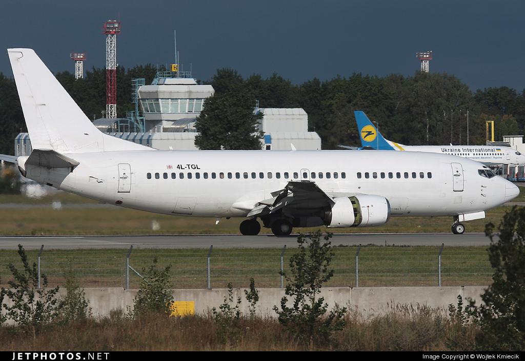 4L-TGL - Boeing 737-3B7 - Georgian Airways