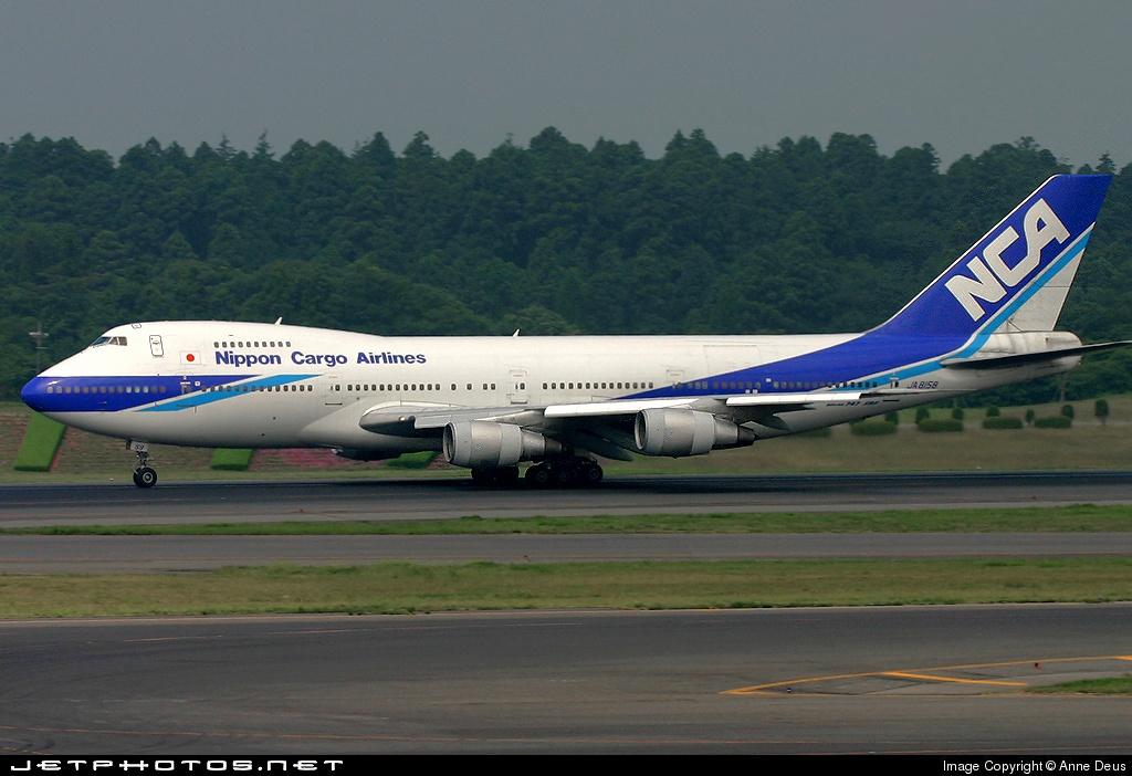 JA8158 - Boeing 747SR-81(SF) - Nippon Cargo Airlines (NCA)