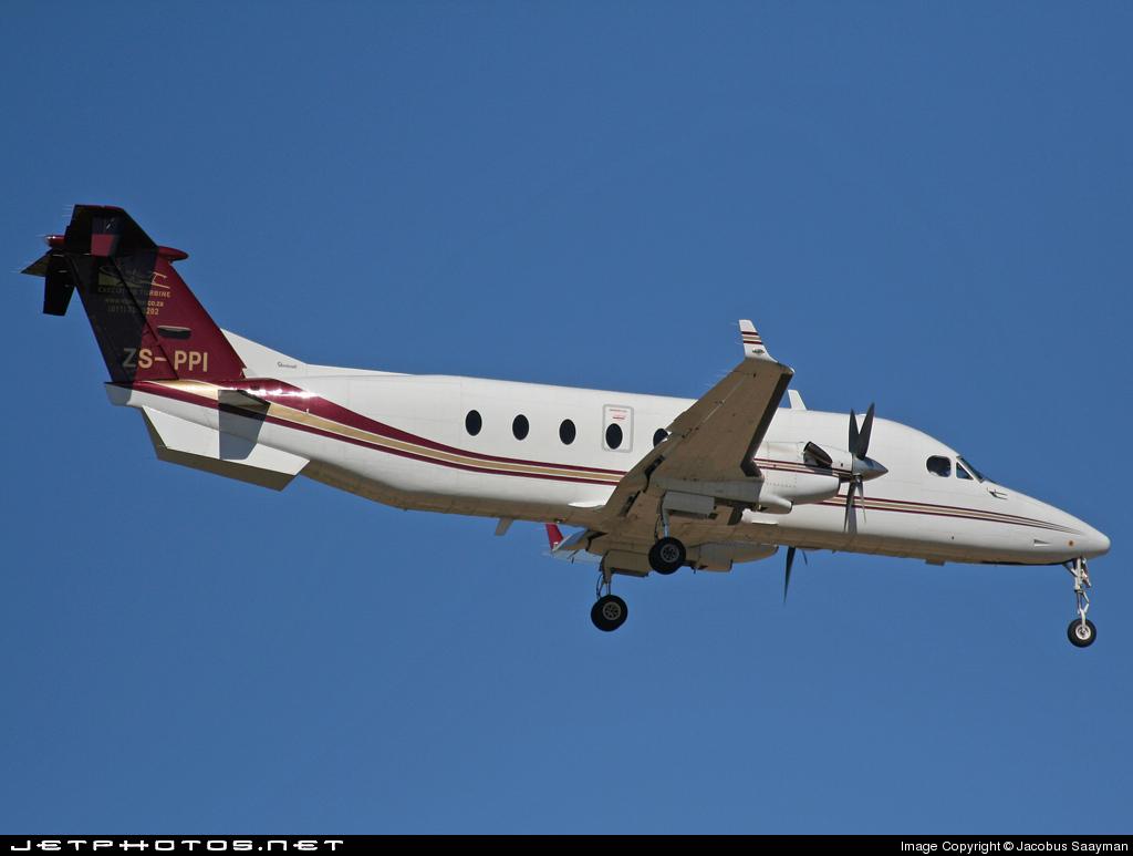 ZS-PPI - Beech 1900D - Executive Turbine Aircraft Hire