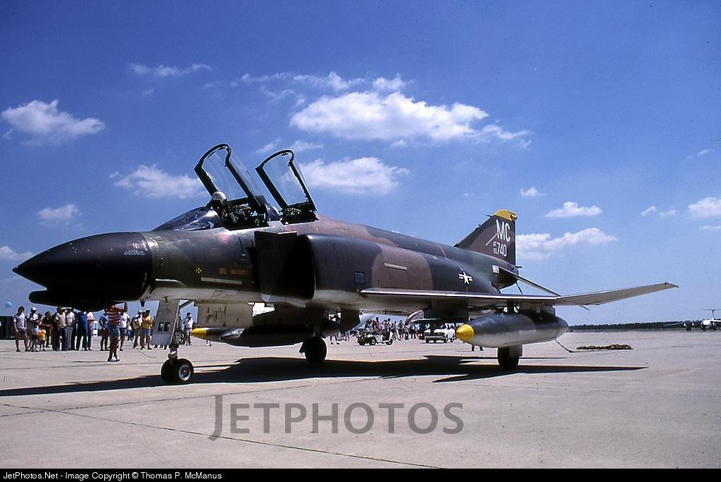 65-0740 - McDonnell F-4D Phantom II - United States - US Air Force (USAF)