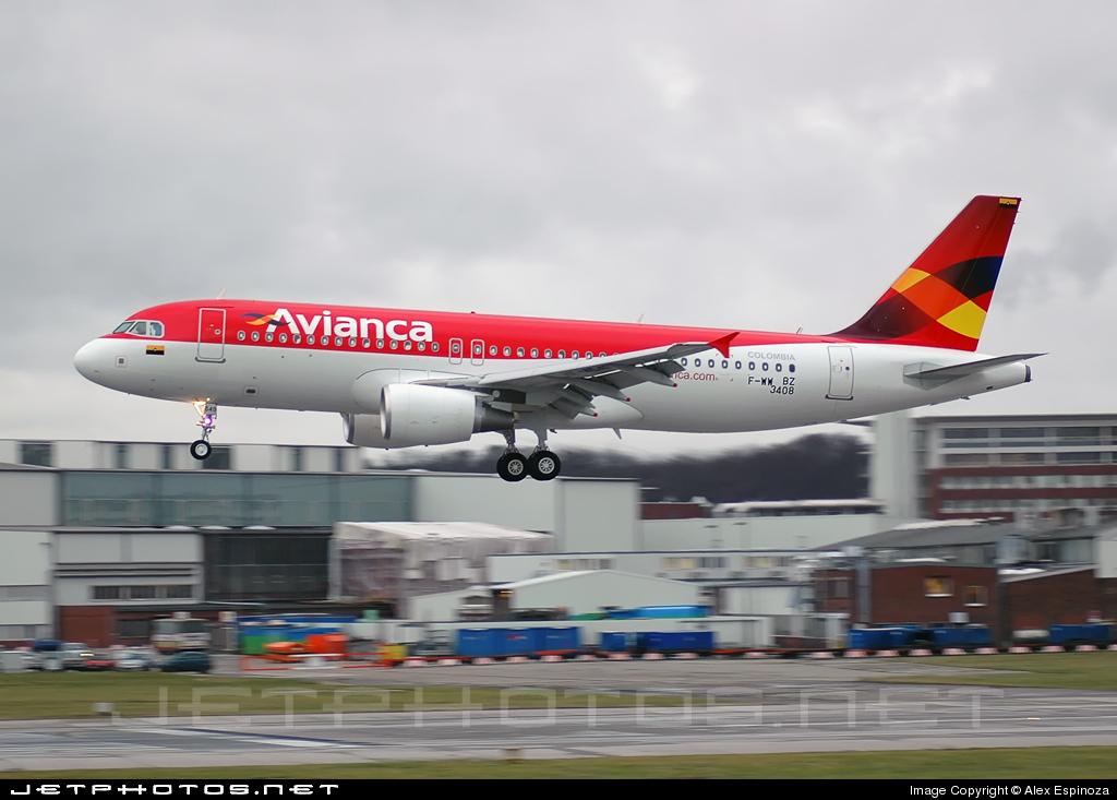 F-WWBZ - Airbus A320-214 - Avianca