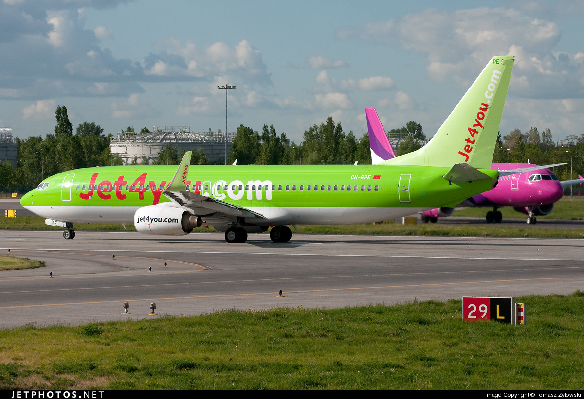 CN-RPE - Boeing 737-8K5 - Jet4You