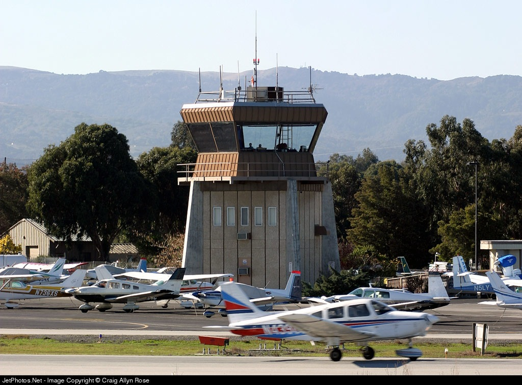 KPAO - Airport - Control Tower