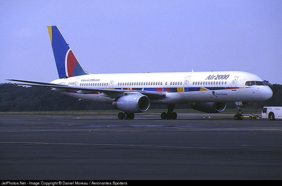 G-OOOS - Boeing 757-236 - Air 2000