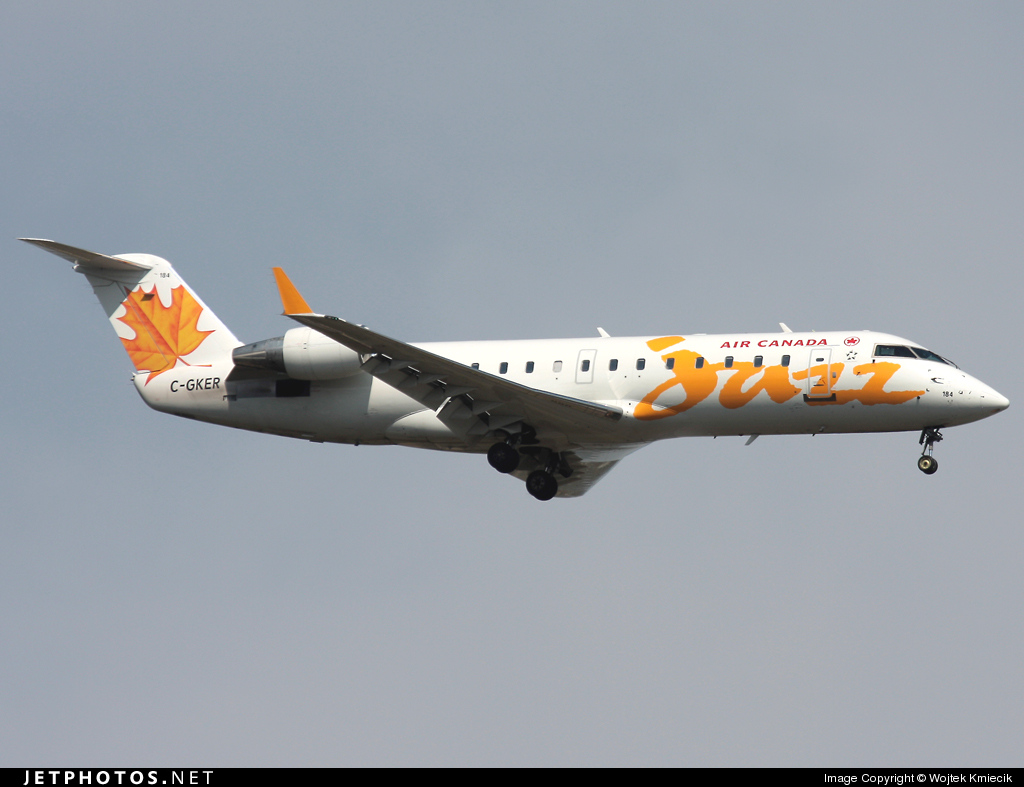 C-GKER - Bombardier CRJ-200LR - Air Canada Jazz