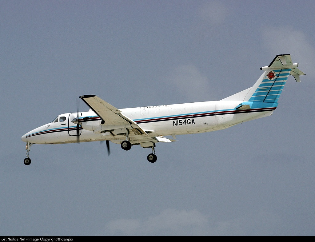 N154GA - Beechcraft 1900C - Sundance Air