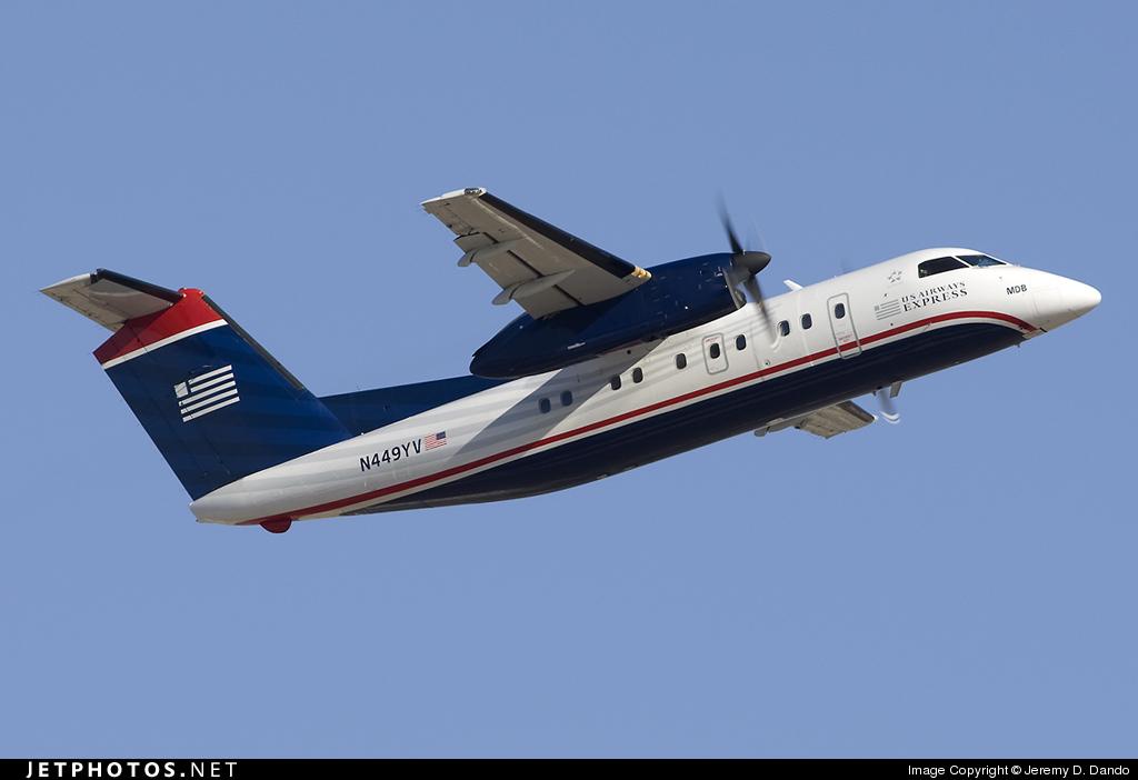 N449YV - Bombardier Dash 8-Q202 - US Airways Express (Mesa Airlines)