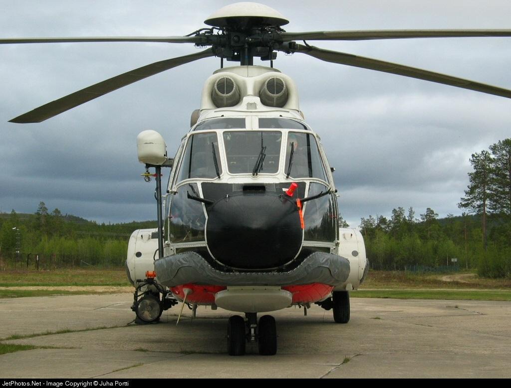 OH-HVG - Aérospatiale AS 332L1 Super Puma - Finland - Frontier Guard
