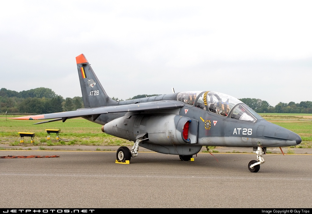 AT-28 - Dassault-Dornier Alpha Jet 1B+ - Belgium - Air Force