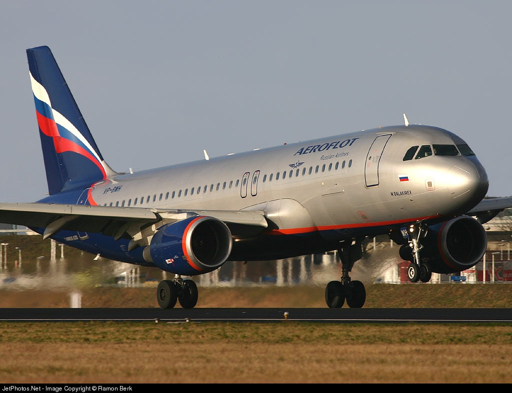 VP-BWH - Airbus A320-214 - Aeroflot