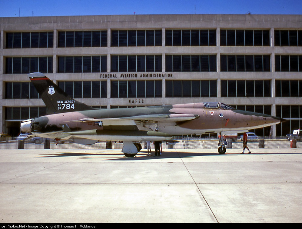 57-5784 - Republic F-105B Thunderchief - United States - US Air Force (USAF)
