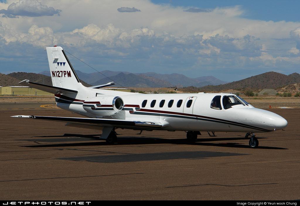 N127PM - Cessna 550 Citation II - Private