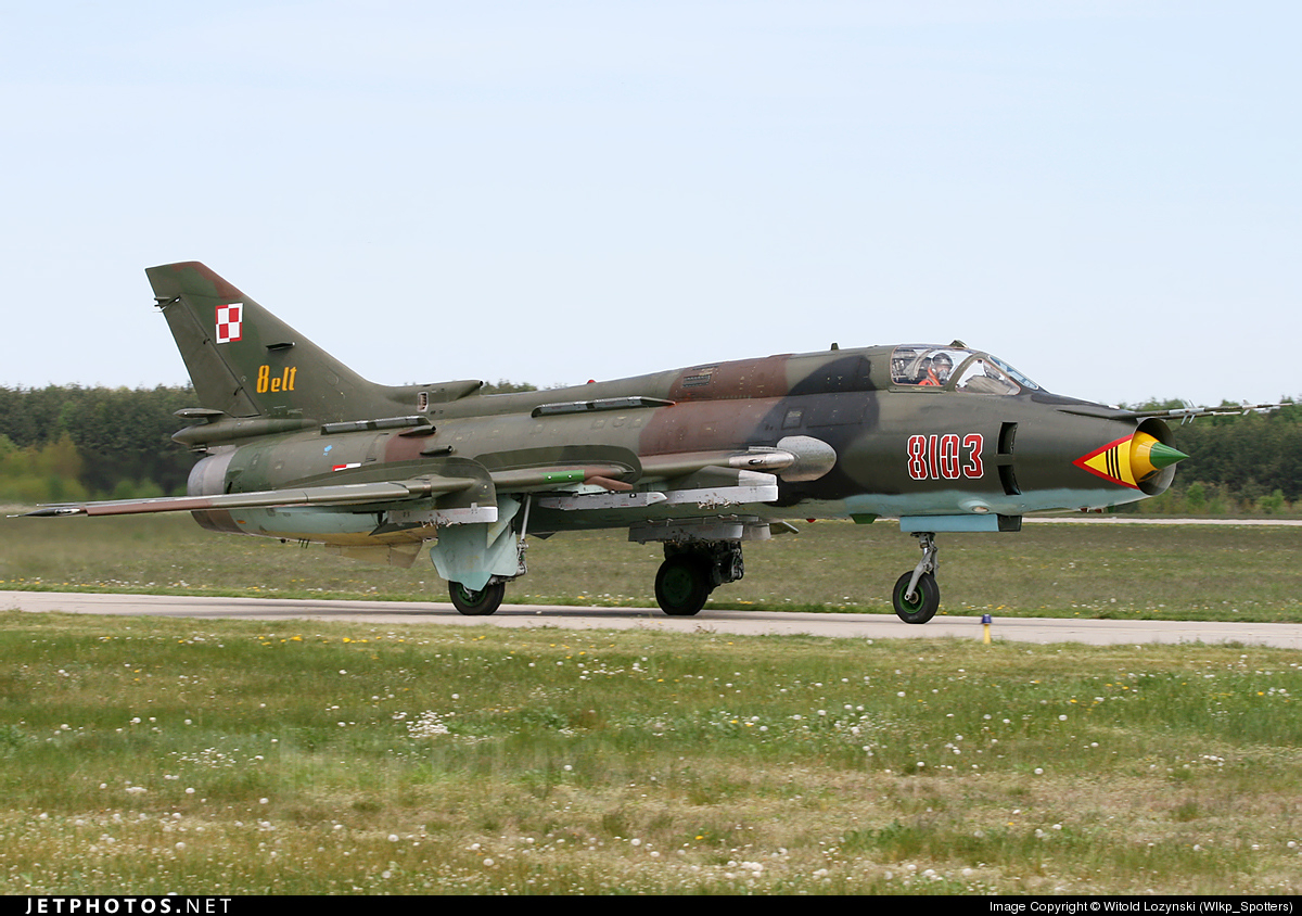 8103 - Sukhoi Su-22M4 Fitter K - Poland - Air Force