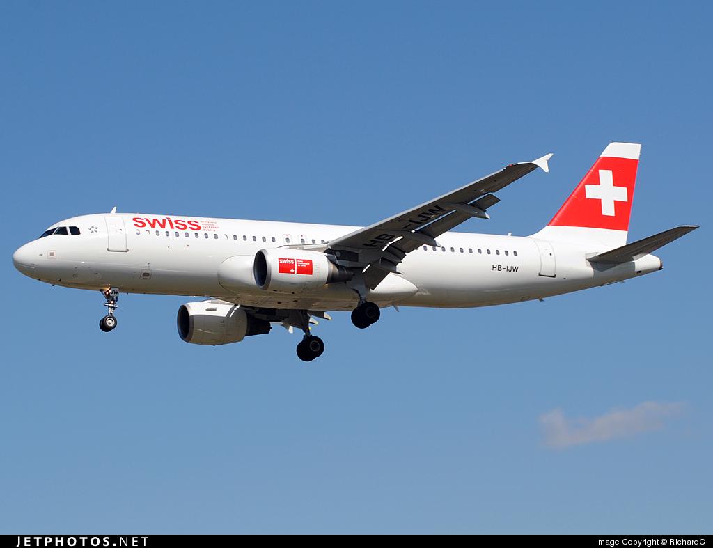 HB-IJW - Airbus A320-214 - Swiss