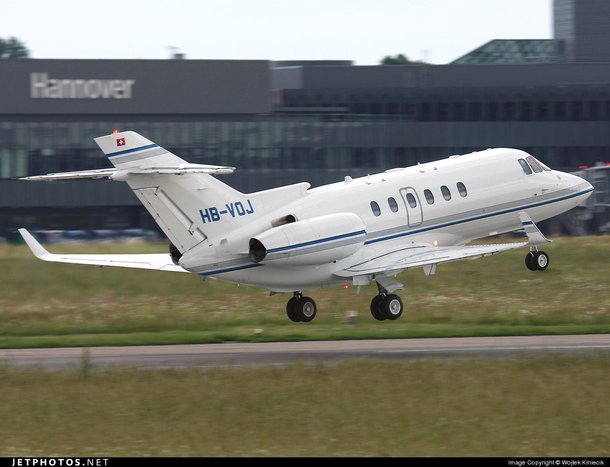 HB-VOJ - Raytheon Hawker 850XP - Private