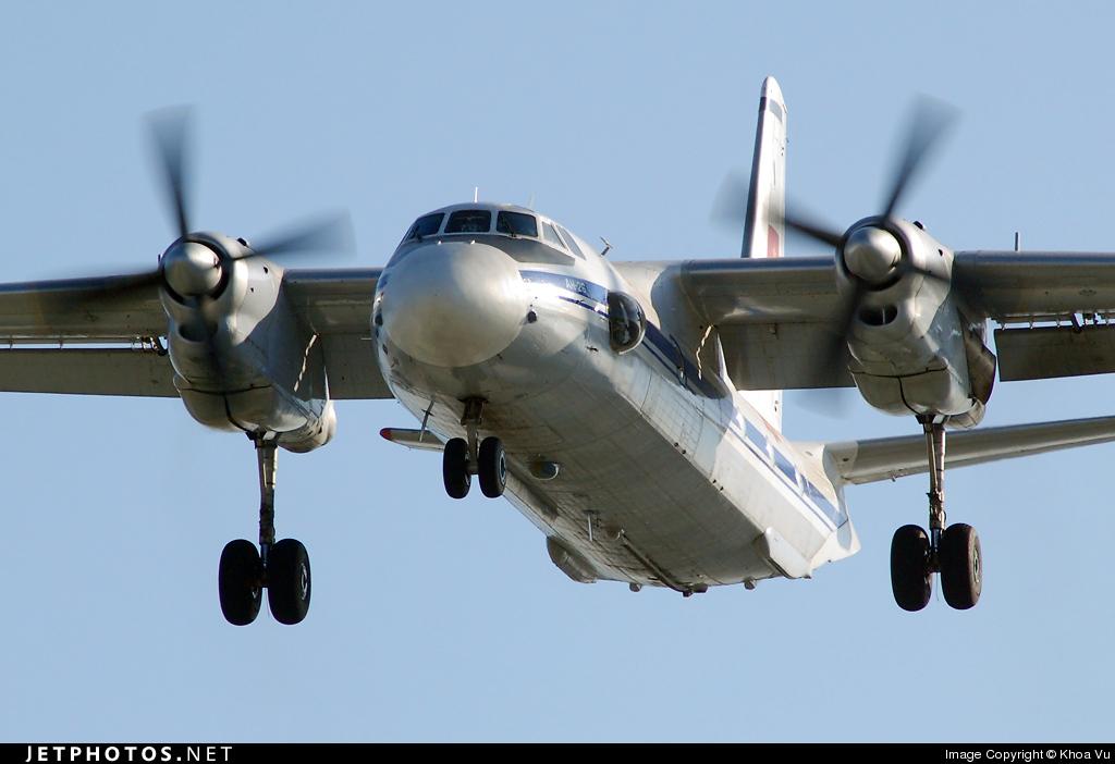 268 - Antonov An-26 - Vietnam - Air Force