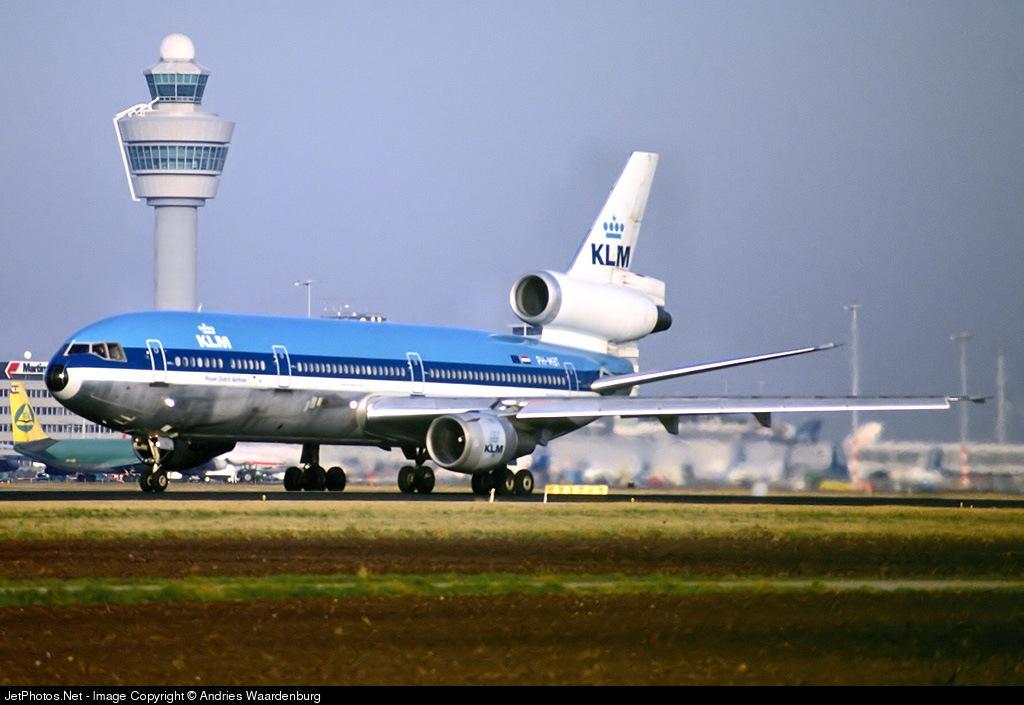 PH-MBT - McDonnell Douglas DC-10-30(CF) - KLM Royal Dutch Airlines