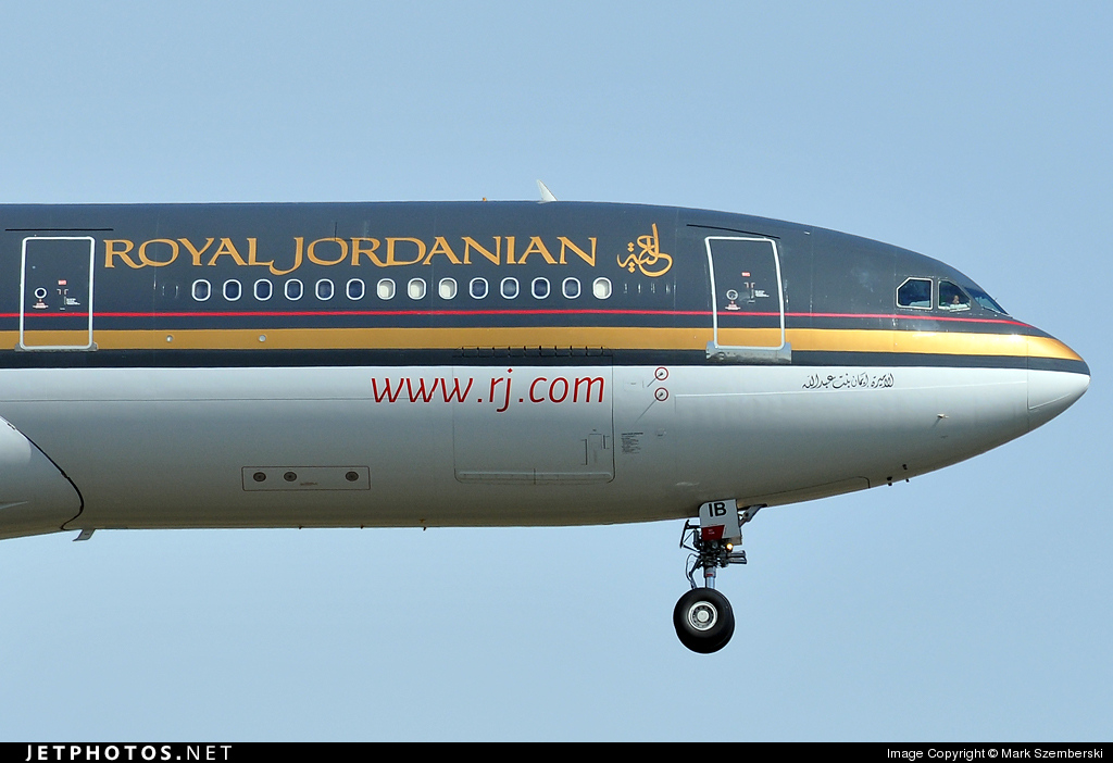JY-AIB - Airbus A340-212 - Royal Jordanian