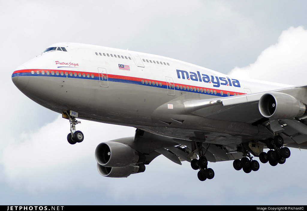 9M-MPP - Boeing 747-4H6 - Malaysia Airlines
