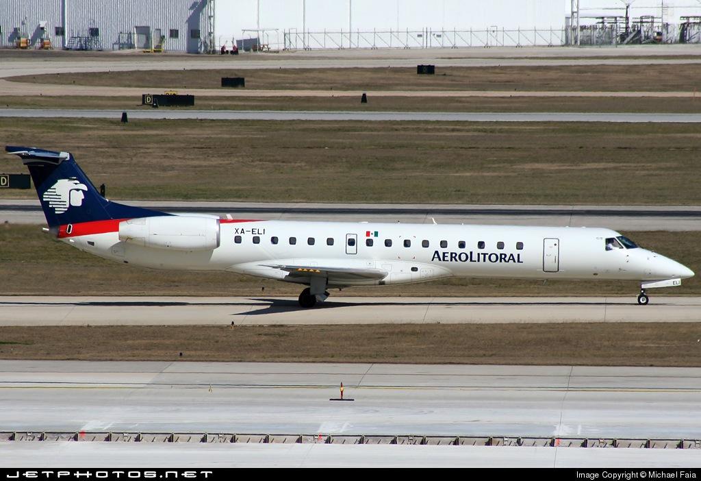 XA-ELI - Embraer ERJ-145LR - Aerolitoral