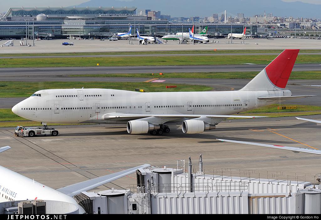 JA8903 - Boeing 747-446D - Japan Airlines (JAL)