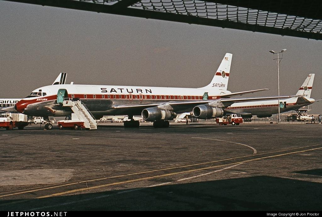 N8008F - Douglas DC-8-54(F) - Saturn Airways