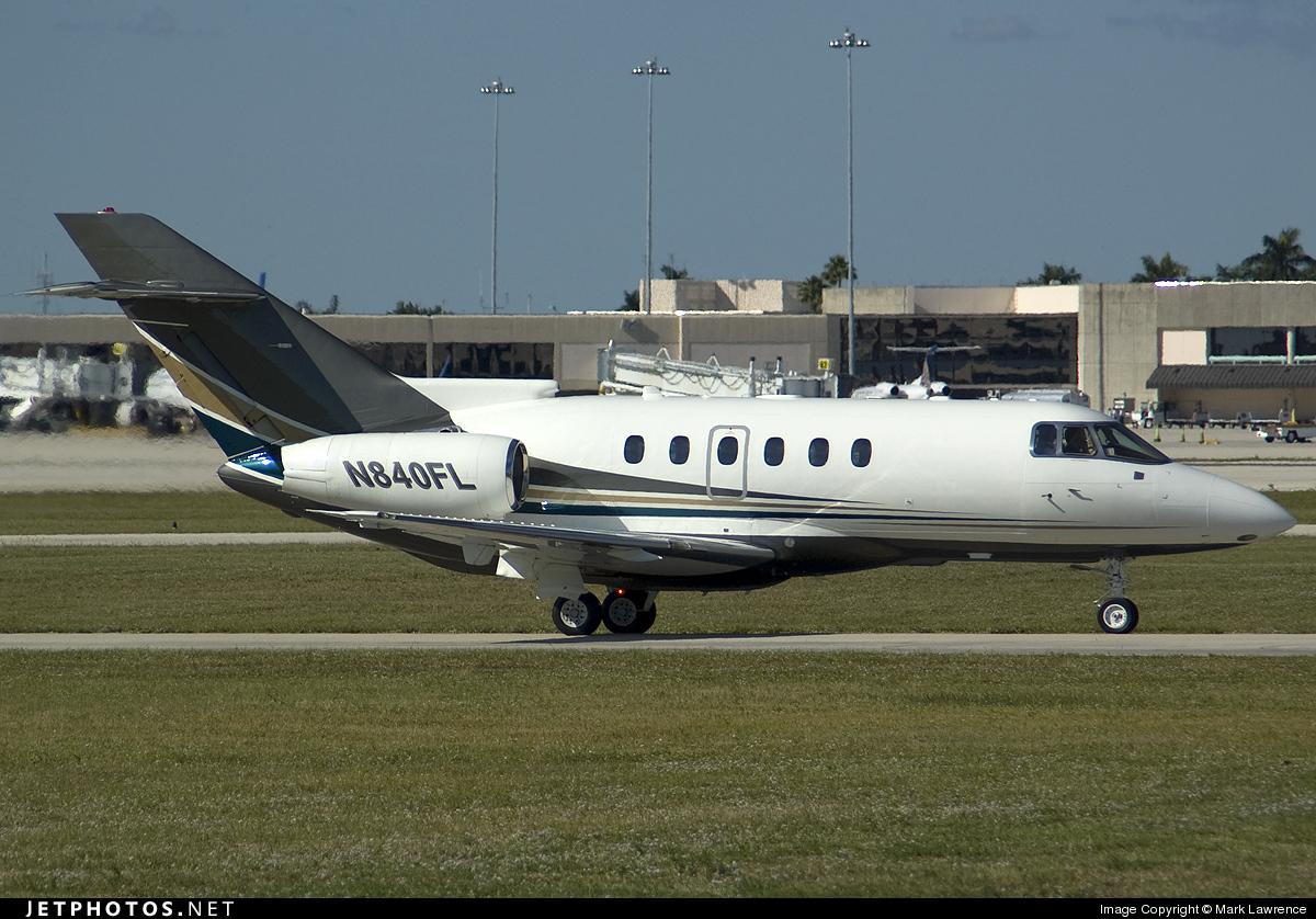 N840FL - Raytheon Hawker 800XP - Flight Options