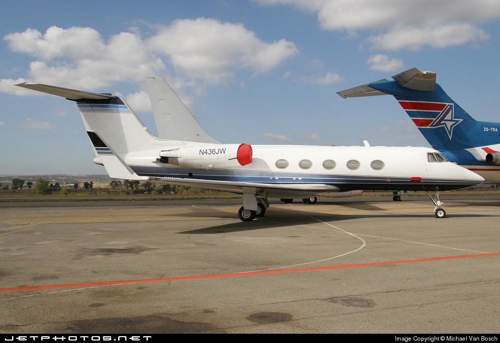 N436JW - Gulfstream G-III - Private