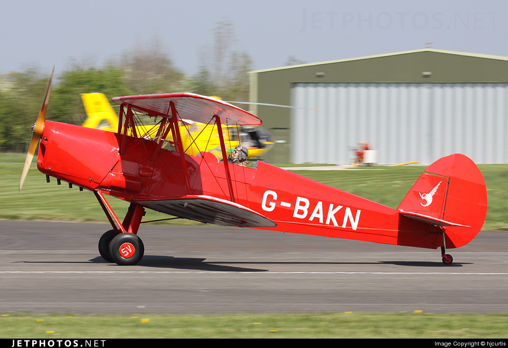 G-BAKN - Stampe and Vertongen SV-4C - Private
