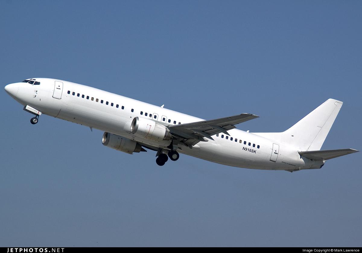 N916SK - Boeing 737-4Q8 - SkyKing Airlines