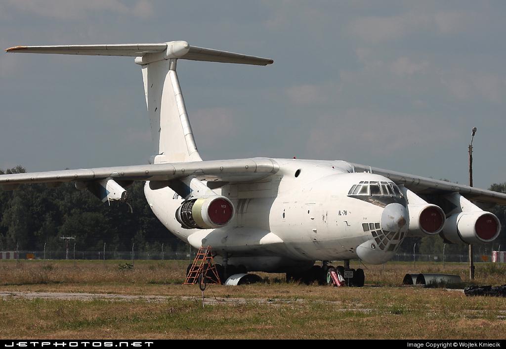 UR-UCS - Ilyushin IL-76MD - Ukrainian Cargo Airways (UCA)