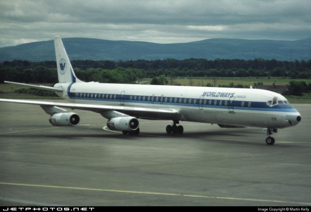 C-FCPP - Douglas DC-8-63 - Worldways Canada