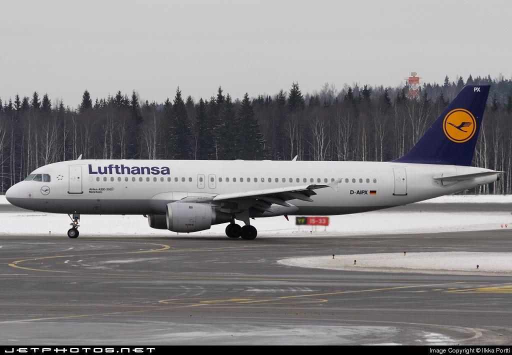 D-AIPX - Airbus A320-211 - Lufthansa