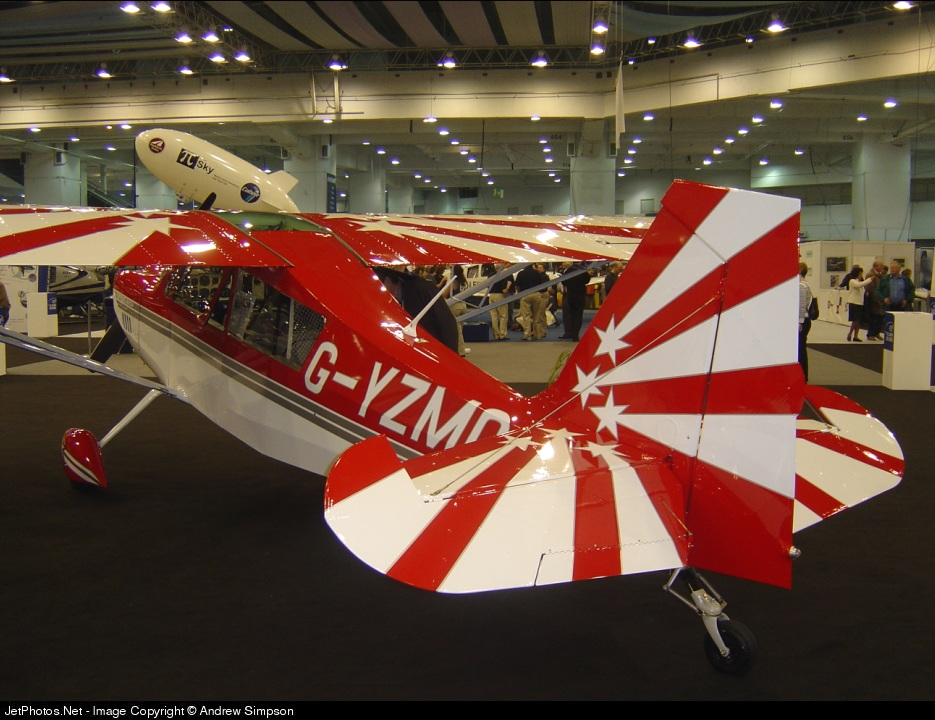 G-YZMO - Champion 8K Cab - Blueyonder Aviation