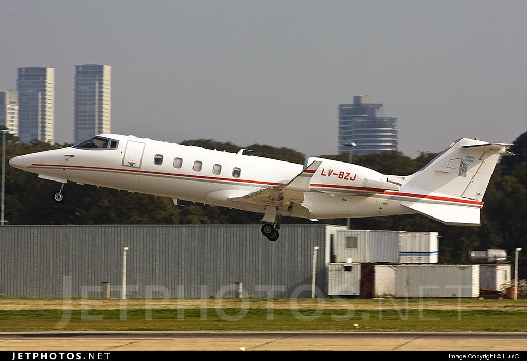 LV-BZJ - Bombardier Learjet 60 - Private
