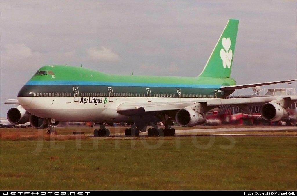 EI-BED - Boeing 747-130 - Aer Lingus