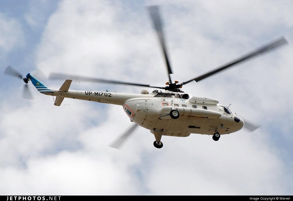 UP-M1702 - Mil Mi-172 - Kazakhstan - Government