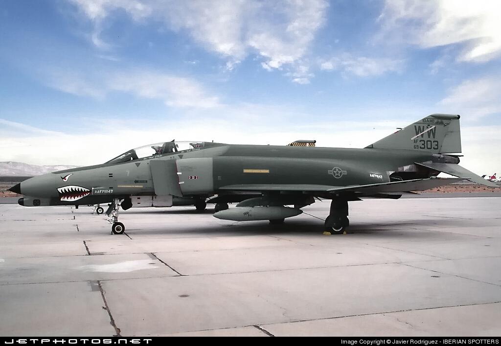 69-0303 - McDonnell Douglas F-4G Phantom II - United States - US Air Force (USAF)