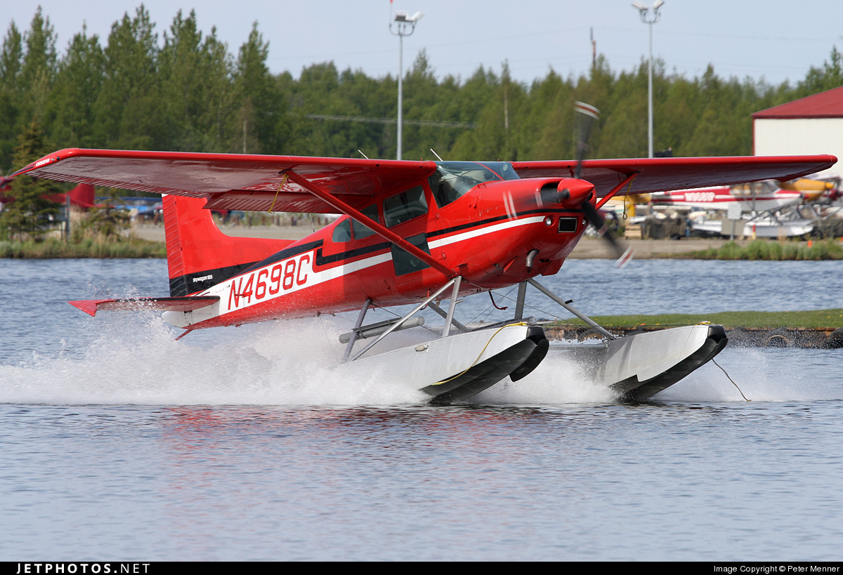 N4698C - Cessna 185A Skywagon - Private