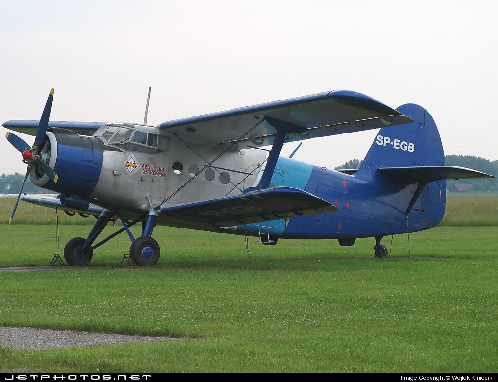 SP-EGB - PZL-Mielec An-2T - Aero Club - Kraków
