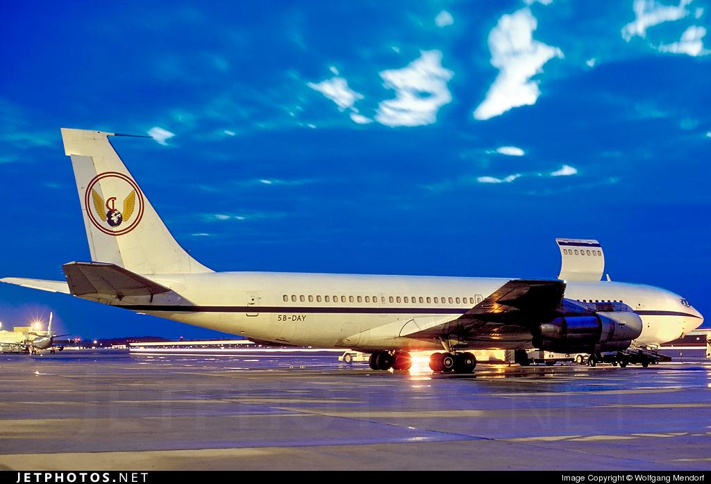 5B-DAY - Boeing 707-338C - Avistar