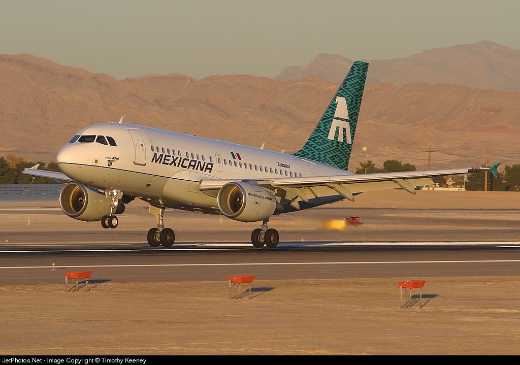XA-UBQ - Airbus A318-111 - Mexicana