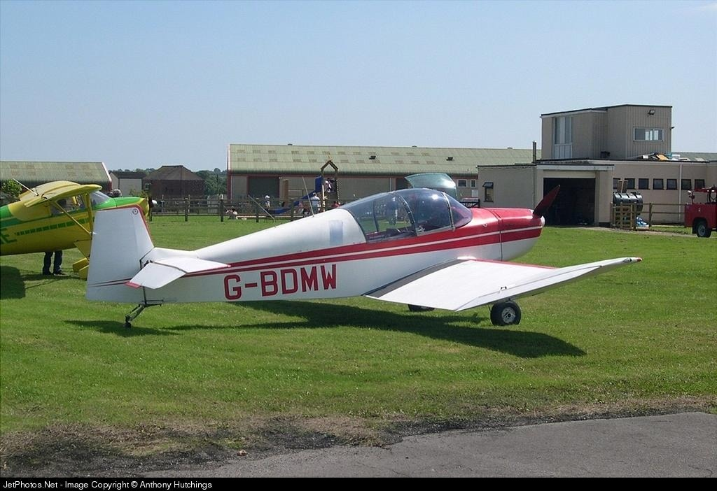 G-BDMW - Jodel DR100A - Private